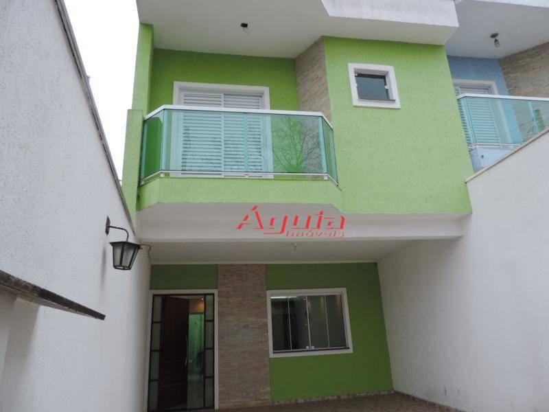 Sobrado com 3 dormitórios à venda, 170 m² por R$ 650.000 - Vila Francisco Matarazzo - Santo André/SP