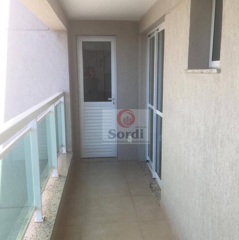 Apartamento para alugar, 46 m² por R$ 1.450,00/mês - Bosque das Juritis - Ribeirão Preto/SP