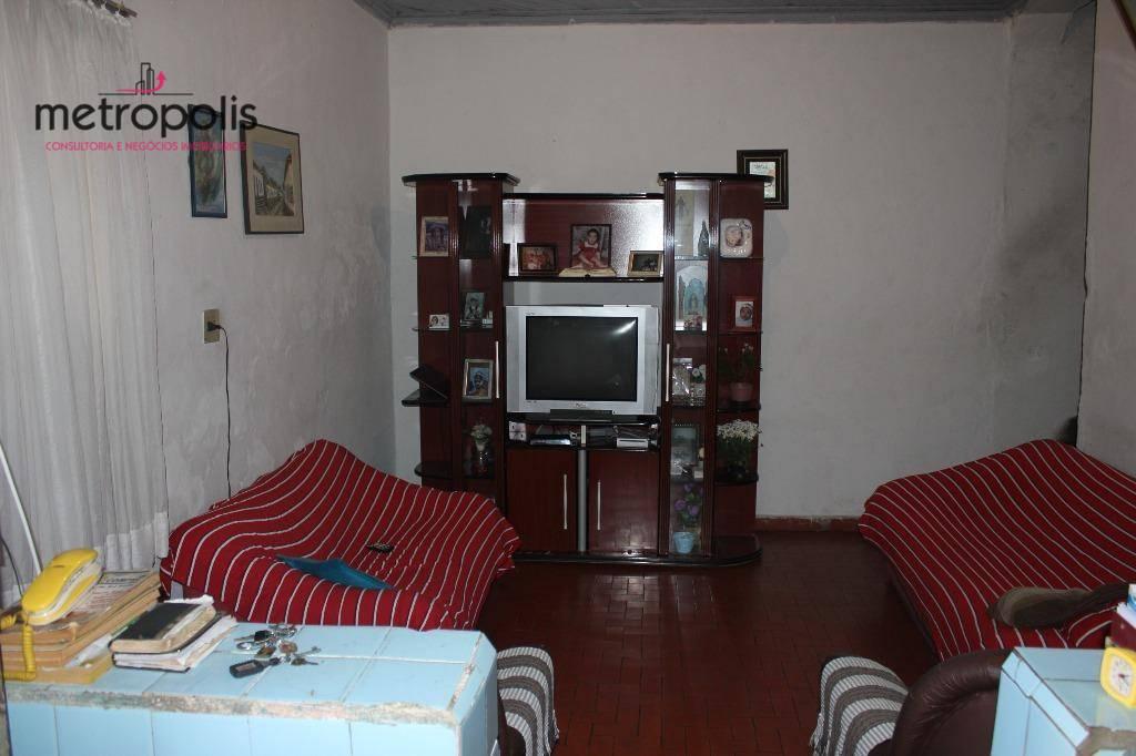 Casa residencial à venda, Santa Maria, São Caetano do Sul.