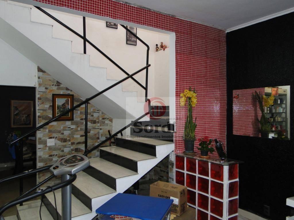 Sobrado à venda, 203 m² por R$ 532.000,00 - Jardim Paulistano - Ribeirão Preto/SP