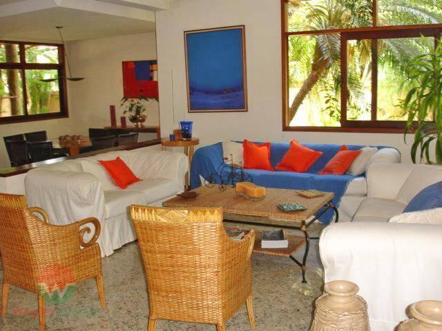 sobrado para locação no jardim acapulco em guarujá, sala 3 ambientes com lavabo, 4 suítes com...