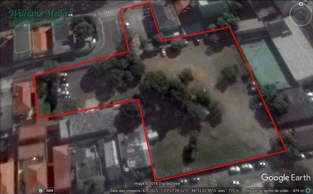 Terreno residencial à venda, Macedo, Guarulhos.