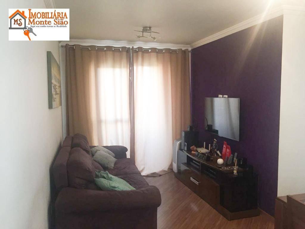 Apartamento com 3 dormitórios à venda, 68 m² por R$ 315.000,00 - Picanco - Guarulhos/SP