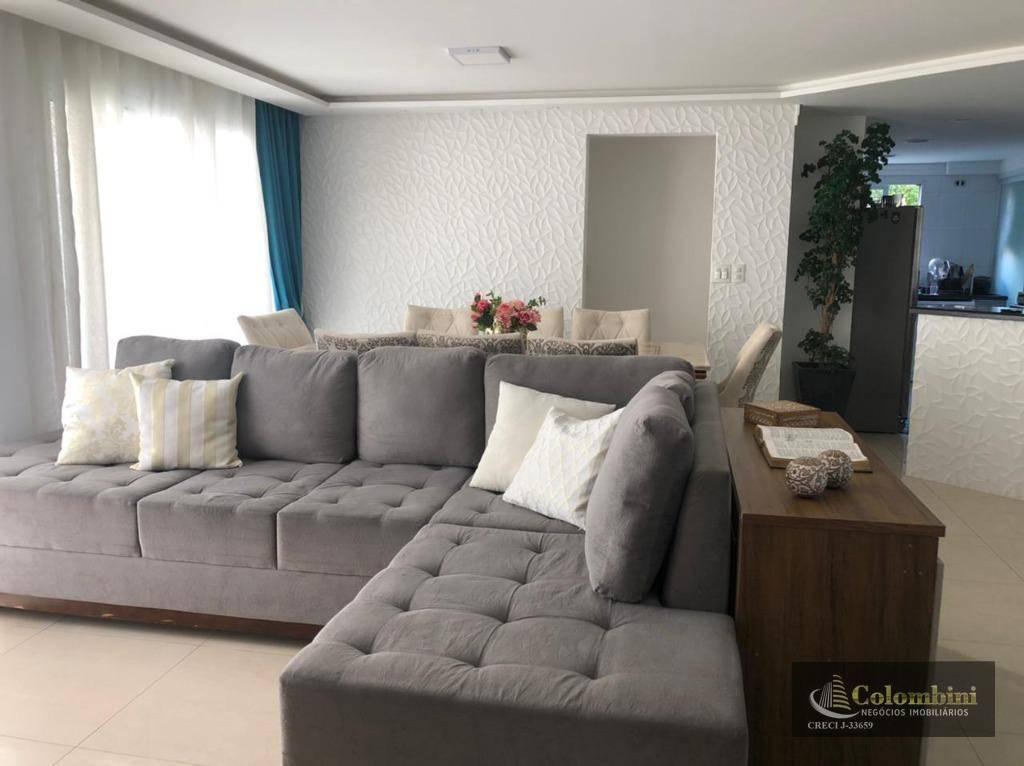 Apartamento com 3 dormitórios à venda, 113 m² por R$ 765.000,00 - Santa Paula - São Caetano do Sul/SP