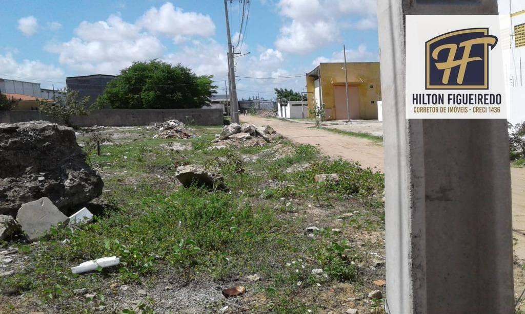 Terreno à venda, 480 m² por R$ 180.000 - Intermares - Cabedelo/PB