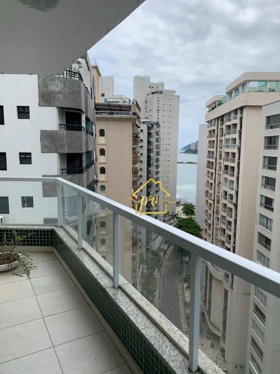 Apartamento com 3 dormitórios à venda, 130 m² por R$ 448.500,00 - Morro do Maluf - Guarujá/SP