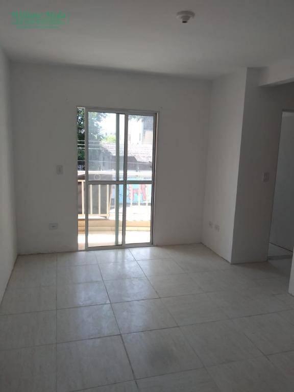 Apartamento com 2 dormitórios para alugar, 52 m² por R$ 900/mês - Vila Nova Bonsucesso - Guarulhos/SP
