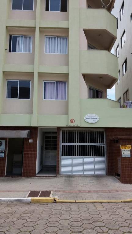 Apartamento com 2 dormitórios para alugar, 80 m² por R$ 1.350/mês - Centro - Barra Velha/SC
