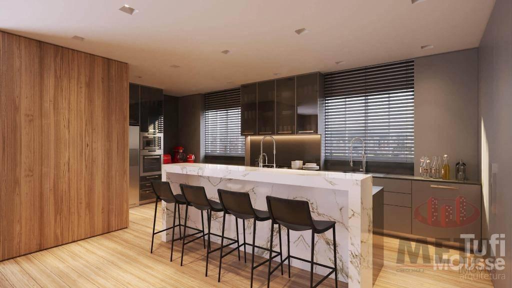 Apartamento com 3 Dormitórios à venda, 248 m² por R$ 2.950.264,19
