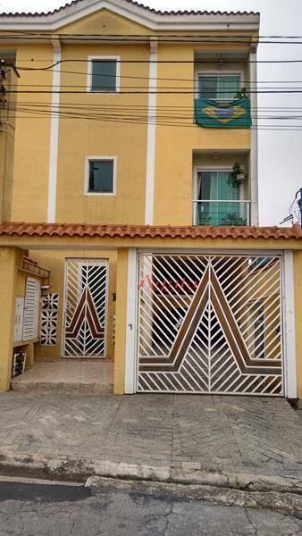 Apartamento residencial à venda, Vila Lucinda, Santo André - AP0375.