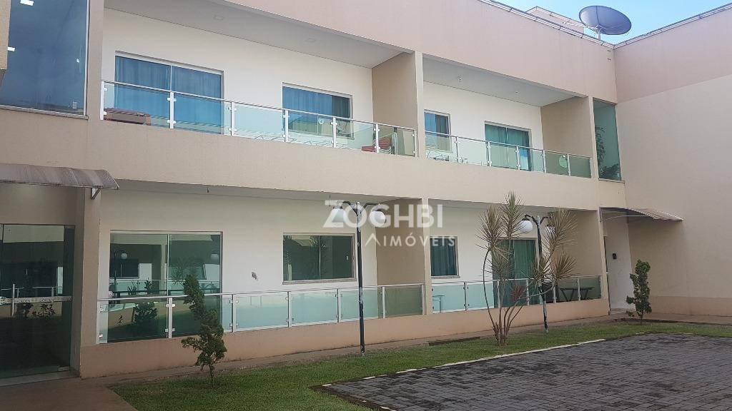 Apartamento com 2 dormitórios para alugar, 83 m² por R$ 1.233,02/mês - Lagoa - Porto Velho/RO