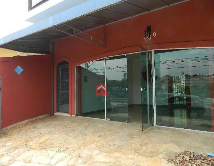 Casa comercial para locação, Jardim Bela Vista, Campinas.