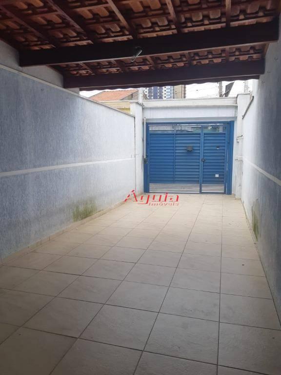 Sobrado com 2 dormitórios à venda, 122 m² por R$ 371.000,00 - Bangu - Santo André/SP