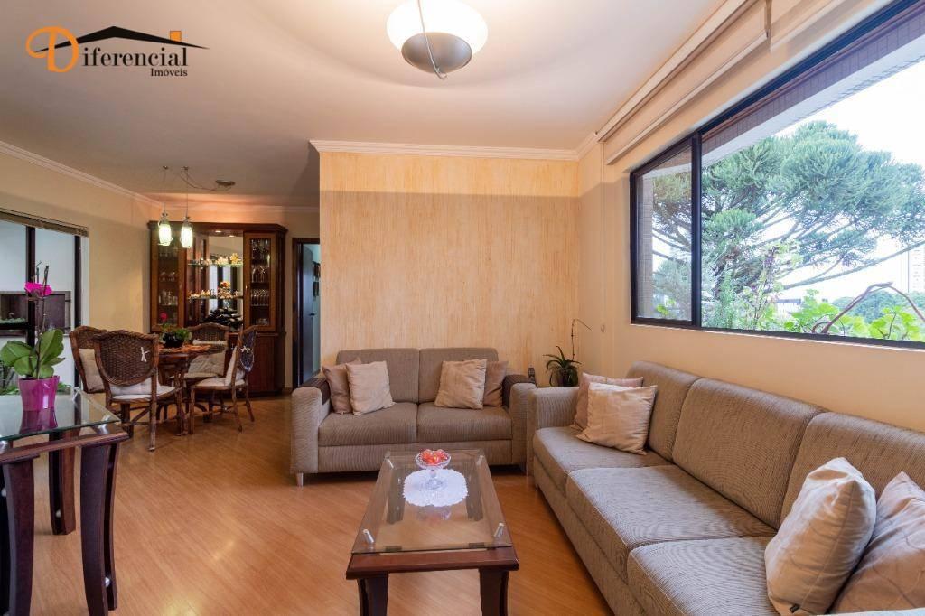 Apartamento com 3 dormitórios à venda, 94 m² por R$ 520.000,00 - Juvevê - Curitiba/PR