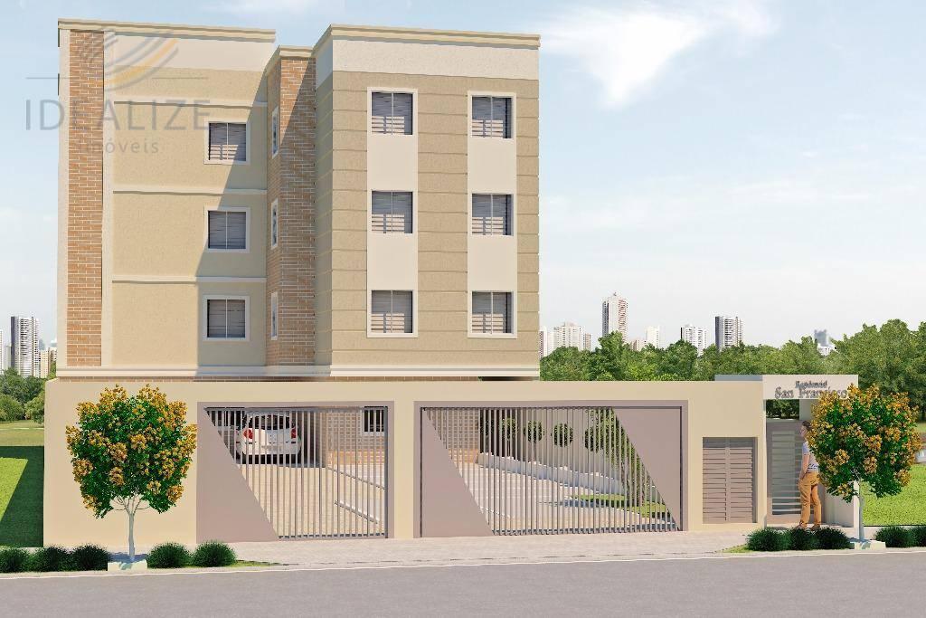 Kitnet residencial à venda, Ouro Fino, São José dos Pinhais.