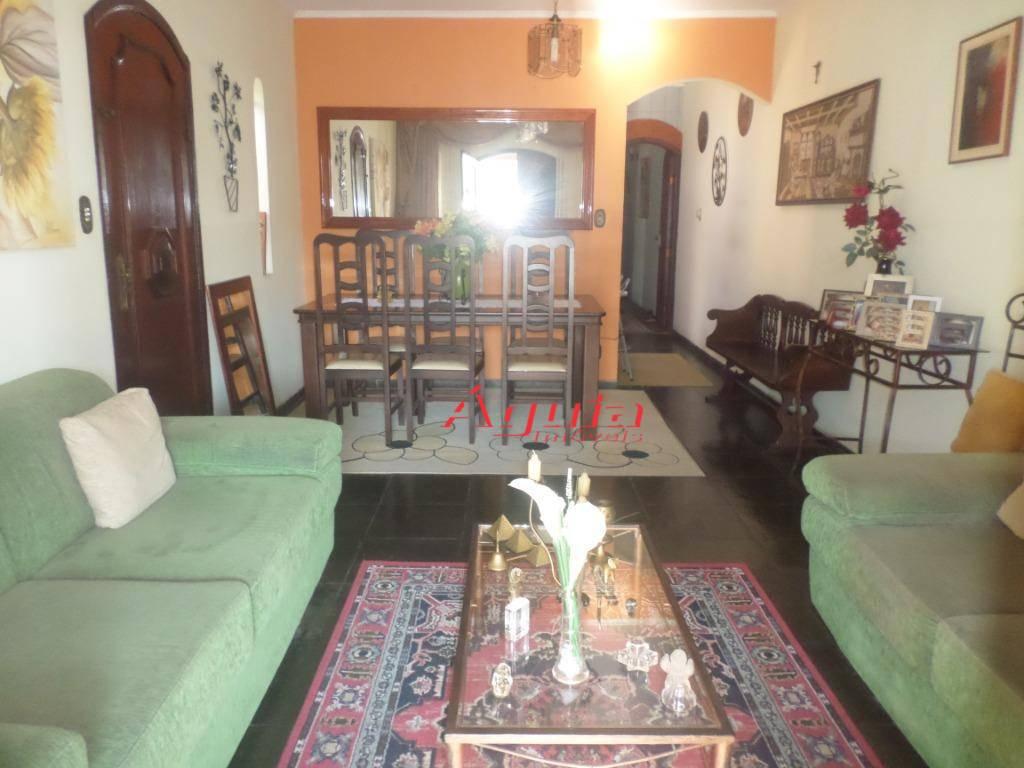 Casa com 4 dormitórios à venda, 200 m² por R$ 550.000 - Vila Scarpelli - Santo André/SP