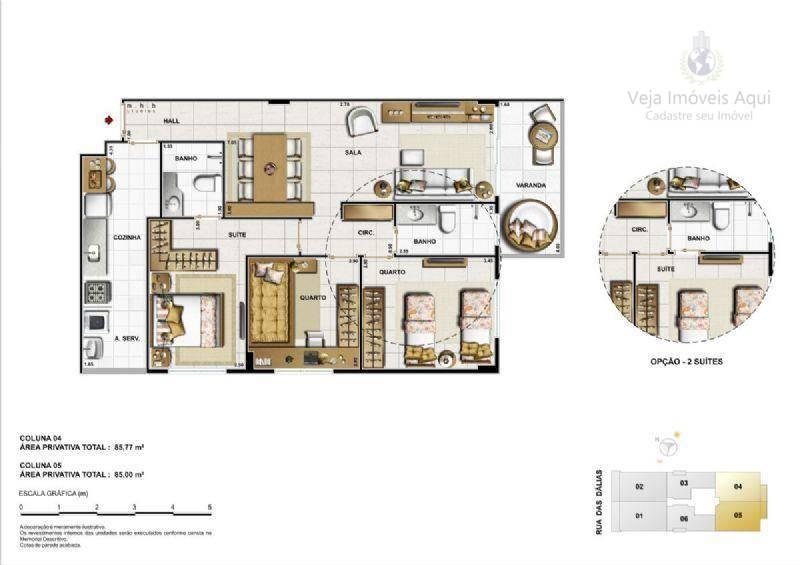 Apartamento em Vila Valqueire  -  Rio de Janeiro - RJ