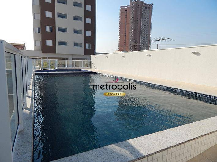Apartamento com 2 dormitórios para alugar, 60 m² por R$ 1.550/mês - Campestre - Santo André/SP