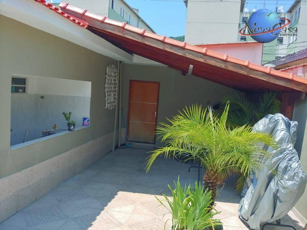 Casa com 2 dormitórios à venda, 120 m² por R$ 380.000 - Santos/SP