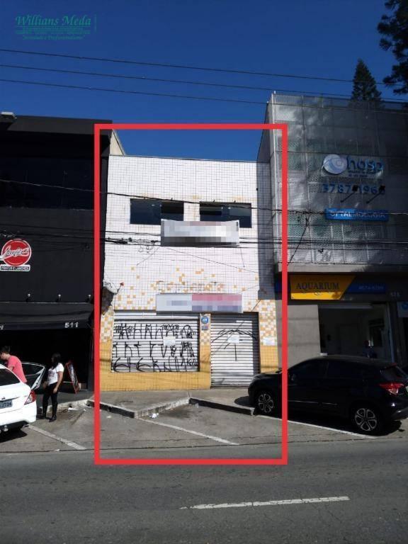 Prédio para alugar, 260 m² por R$ 12.000/mês - Bosque Maia - Guarulhos/SP