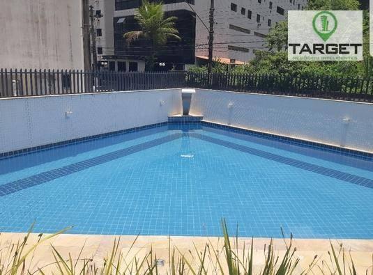 Apartamento com 3 dormitórios à venda, 248 m² por R$ 540.000,00 - Praia das Pitangueiras - Guarujá/SP
