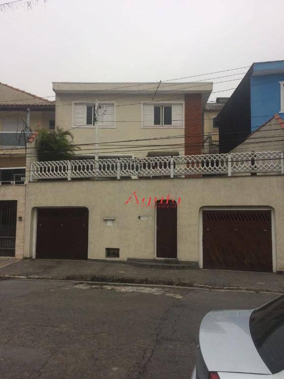 Sobrado com 3 dormitórios à venda, 203 m² por R$ 530.000 - Vila Junqueira - Santo André/SP