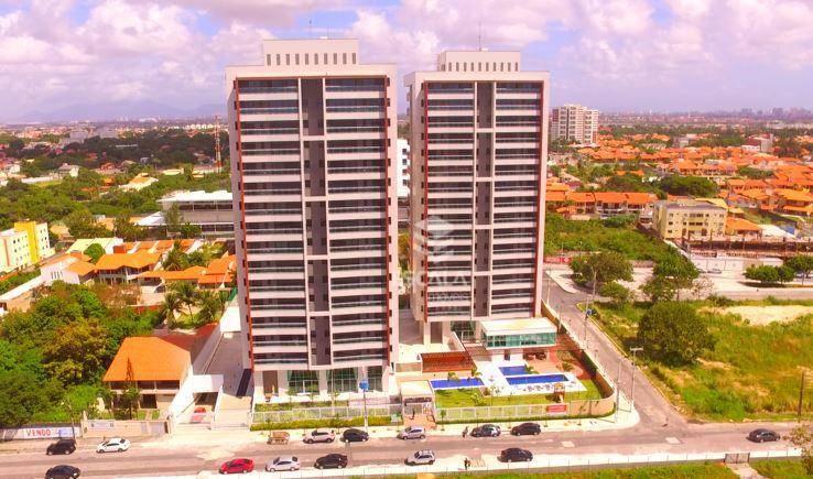Apartamento com 3 quartos à venda, 70 m², 2 vagas, lazer completo ? Luciano Cavalcante - Fortaleza/CE