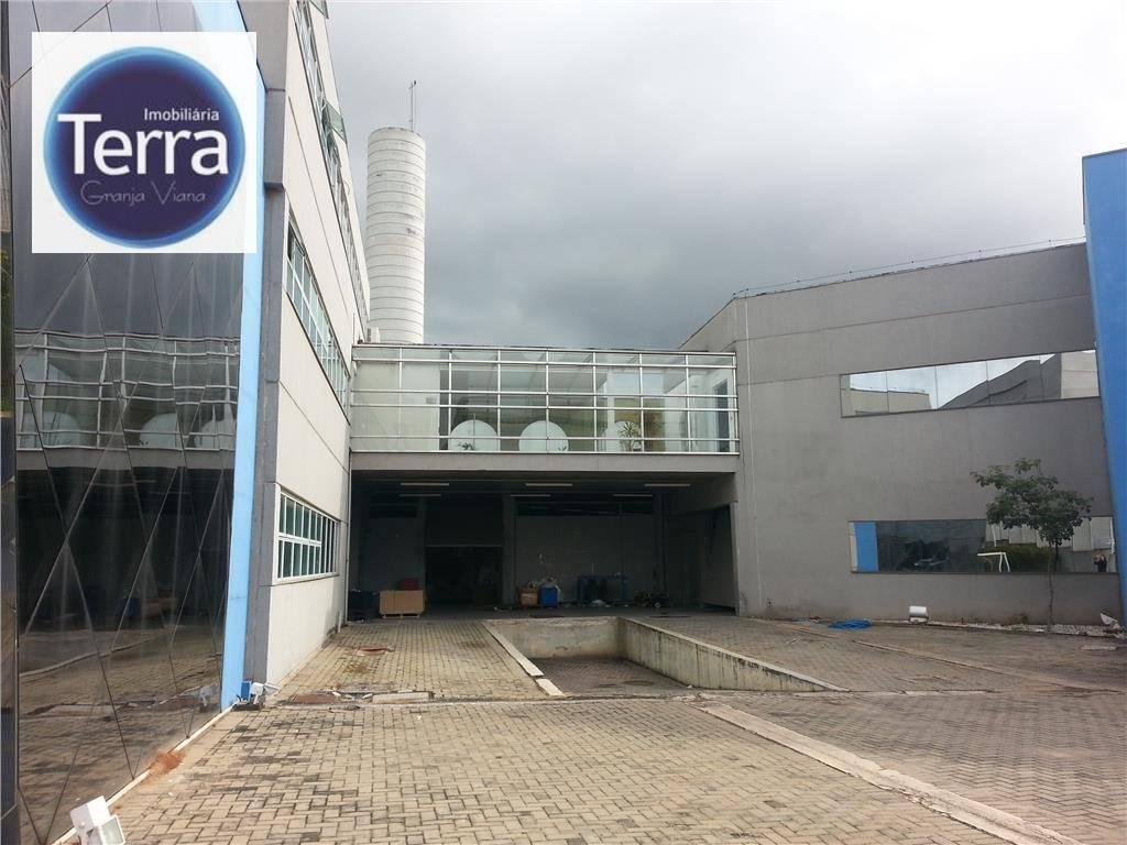 Galpão, 5100 m² - venda por R$ 14.000.000,00 ou aluguel por R$ 80.000,00/mês - Parque Industrial San José - Cotia/SP