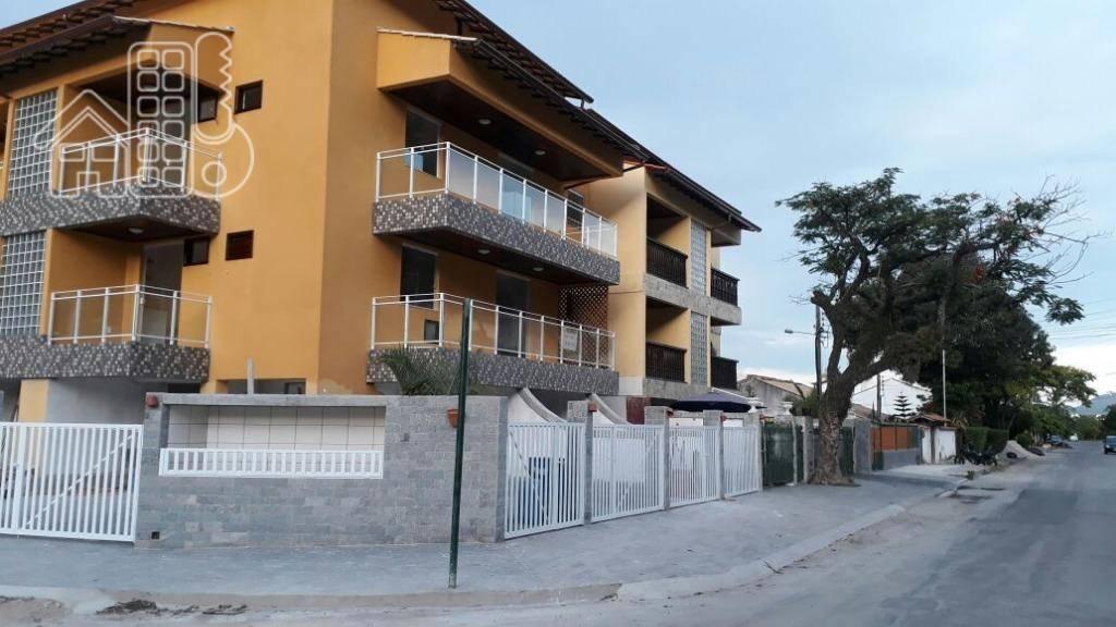 Apartamento com 2 dormitórios para alugar, 79 m² por R$ 1.400,00/mês - Piratininga - Niterói/RJ