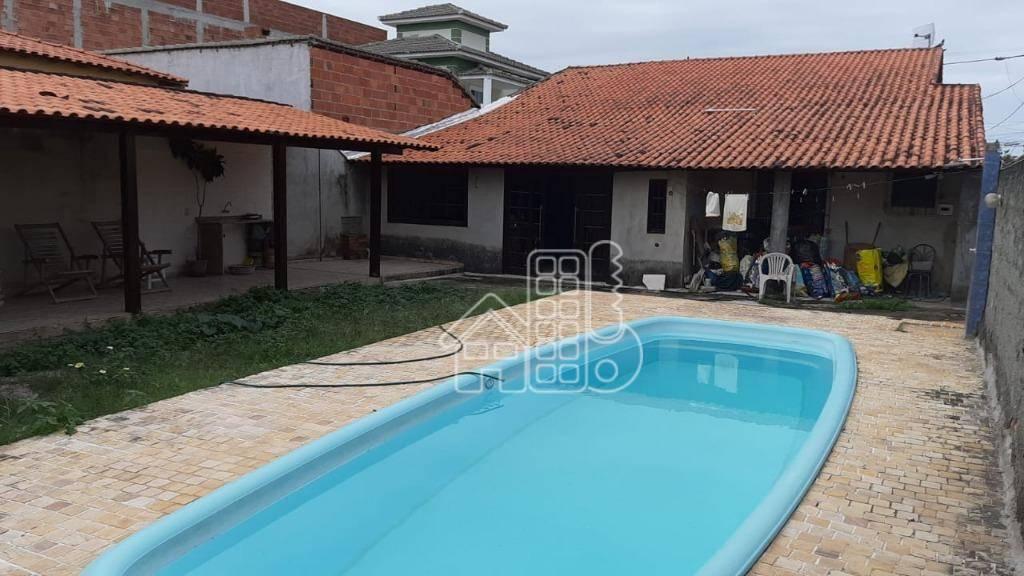 Casa com 4 dormitórios à venda, 300 m² por R$ 530.000 - perto da rodoviária  Itaipuaçu - Maricá/RJ