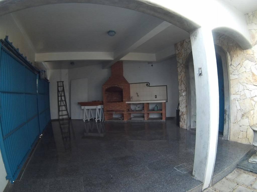 Sobrado residencial à venda, Parque Bandeirante, Santo André.