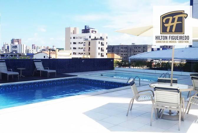 Apartamento com 2 dormitórios para alugar, 110 m² por R$ 1.800/mês