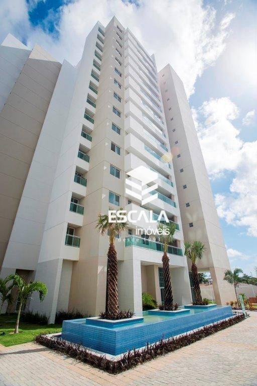 Apartamento com 3 quartos à venda, 99 m², novo, área de lazer, 2 vagas, financia - Cambeba - Fortaleza/CE