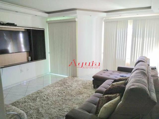 Sobrado com 3 dormitórios à venda, 147 m² por R$ 583.000 - Vila Camilópolis - Santo André/SP