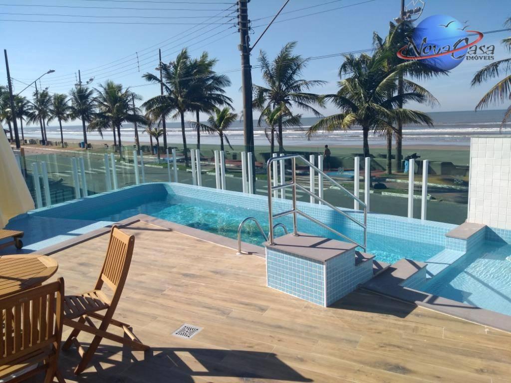 Apartamento com 2 dormitórios sendo uma suíte à venda, 71 m² por R$ 260.000 - Vila Atlântica - Mongaguá/SP