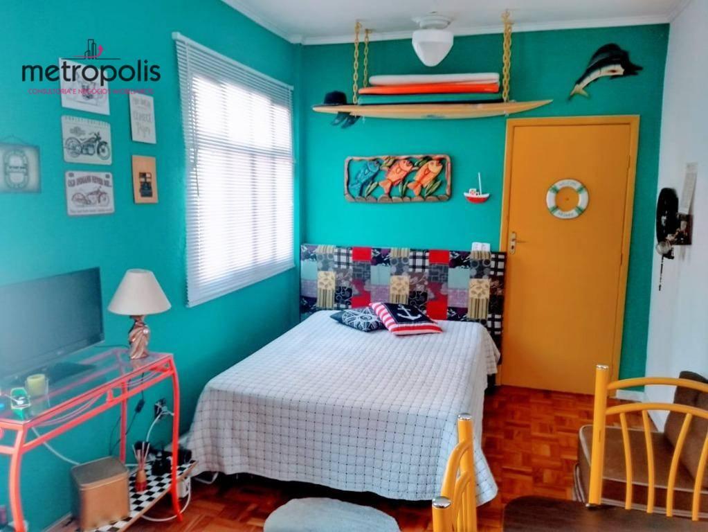 Kitnet com 1 dormitório à venda, 28 m² por R$ 150.000,00 - Aviação - Praia Grande/SP