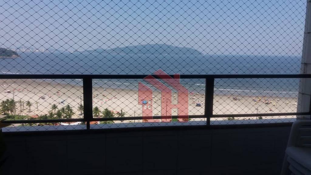 Apartamento 3 dormitórios de frente para o mar no Itararé