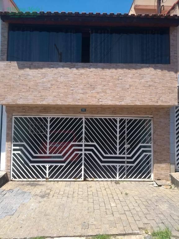 Casa com 2 dormitórios à venda, 66 m² por R$ 370.000 - Jardim Santa Cecília - Guarulhos/SP