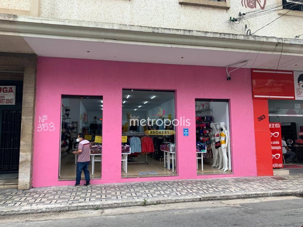 Loja para alugar, 100 m² por R$ 8.000/mês - Centro - Santo André/SP