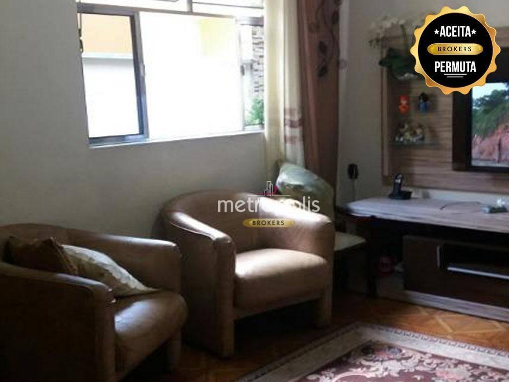 2 Casas no terreno cada uma com 3 dormitórios à venda por R$ 1.300.000 - Cerâmica - São Caetano do Sul/SP