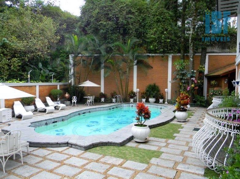 Sobrado com 4 dormitórios à venda, 604 m² por R$ 12.000.000 - Alto de Pinheiros - São Paulo/SP - SO2792.
