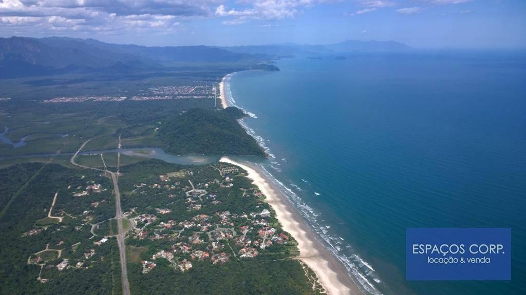 Casa em condomínio fechado, mobiliada, à venda, praia de Guaratuba, Bertioga.
