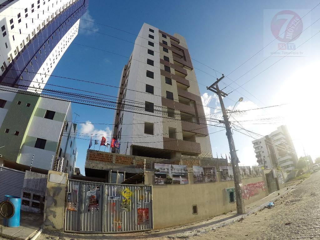Apartamento residencial à venda, Bessa, João Pessoa - AP0541