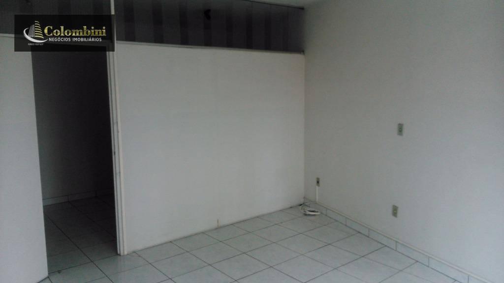 Sala comercial para locação, Vila Palmares, Santo André.