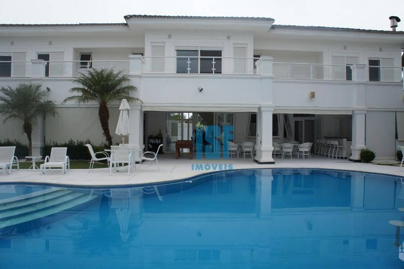 Sobrado com 7 dormitórios à venda, 968 m² por R$ 7.500.000 - e para locação. Jardim Virginia - Guarujá/SP. - SO4720.