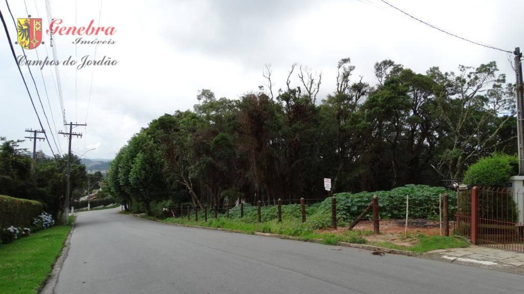 Terreno  residencial à venda, Alto Do Capivari, Campos do Jordão.