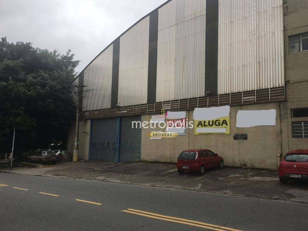 Galpão para alugar, 3461 m² por R$ 38.000,00/mês - Independência - São Bernardo do Campo/SP