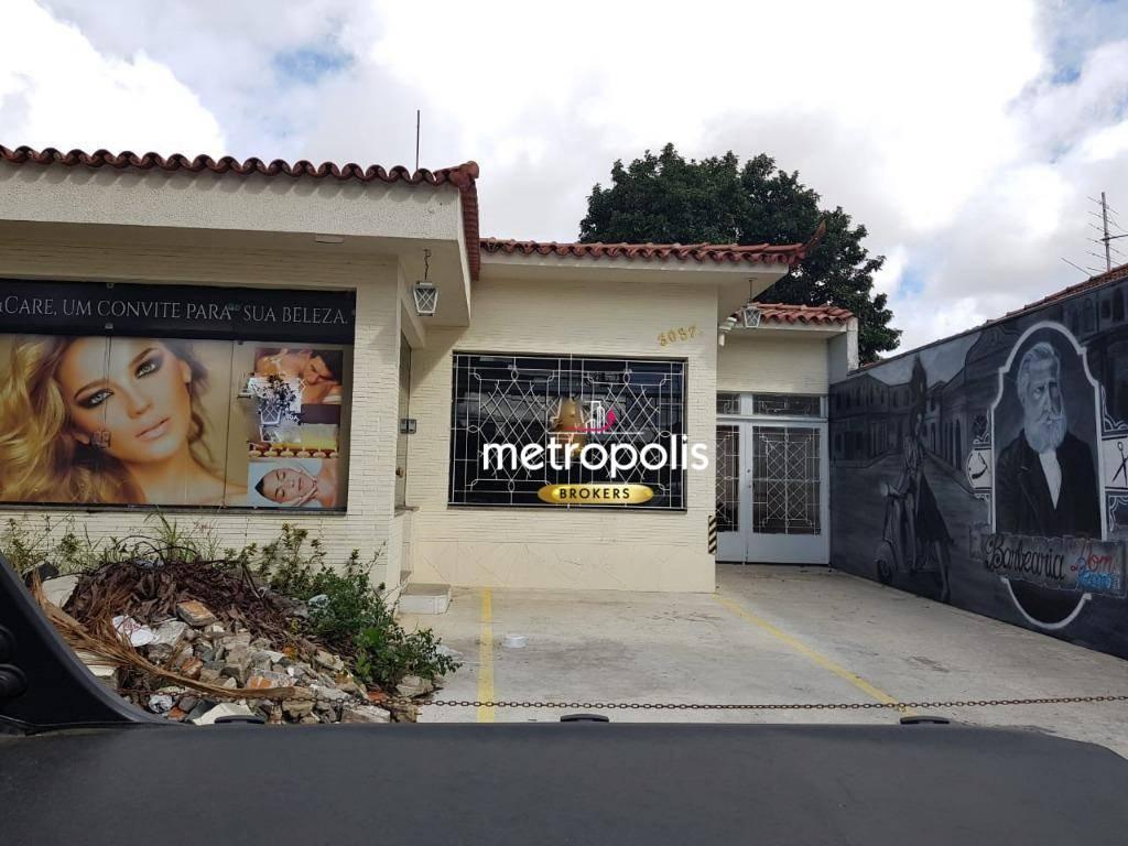 Casa para alugar, 350 m² por R$ 5.200/mês - Campestre - Santo André/SP