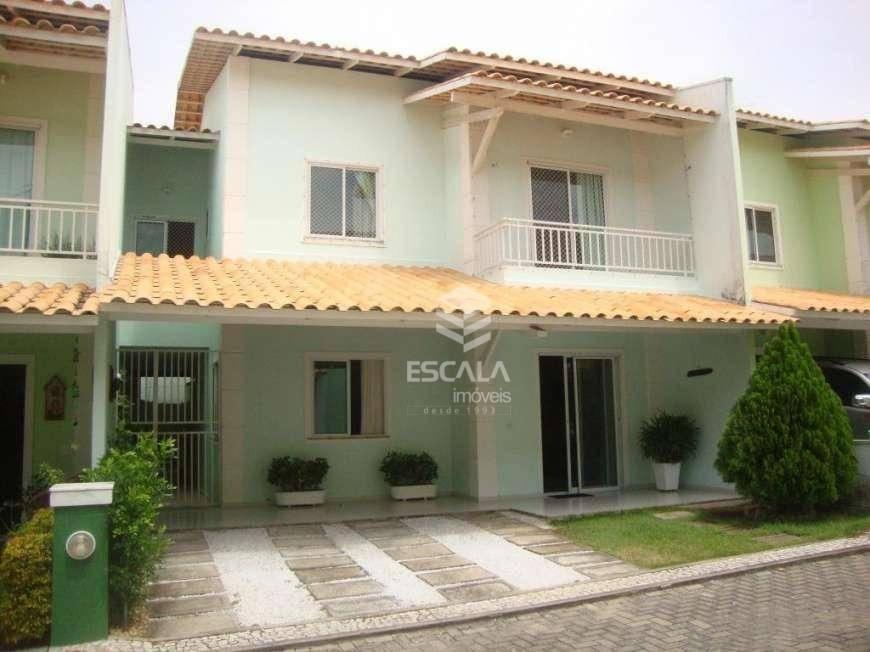 Casa duplex com 3 quartos à venda, 118 m², porcelanato, 2 vagas, área de lazer - Sapiranga - Fortaleza/CE
