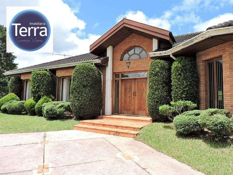 Casa residencial à venda, Vila Real Moinho Velho, Granja Viana.